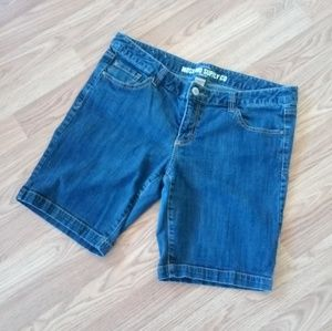 Mossimo Jean Shorts Juniors Size 17 Fit 6